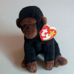 Ty Beanie Baby congo the Gorilla Tagged 1996